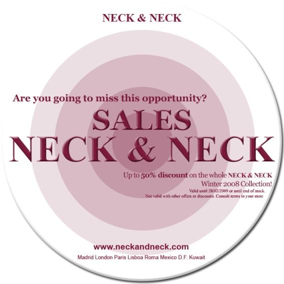 NECK & NECK Sales